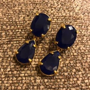 Kate Spade jeweled earrings